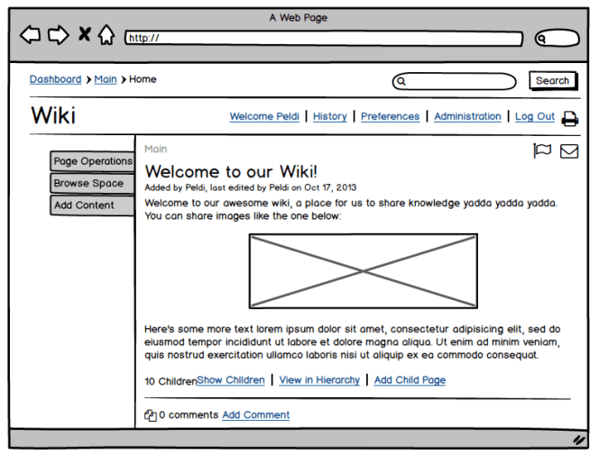Balsamiq Mockups windows
