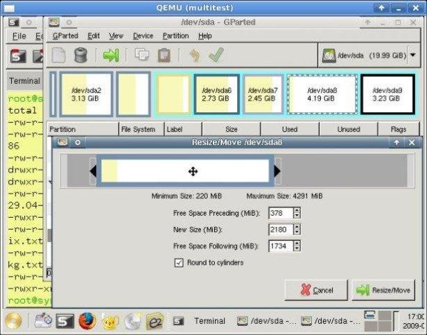 SystemRescueCd windows