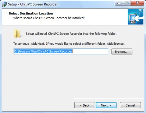 ChrisPC Screen Recorder Pro latest version