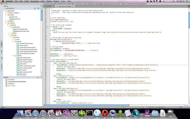 ActiveState Komodo IDE windows