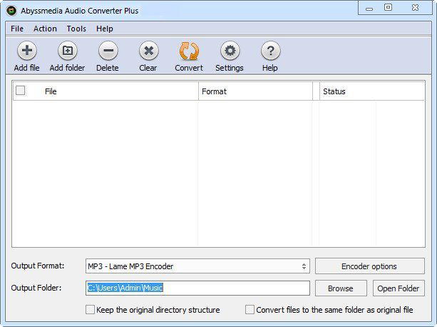 AbyssMedia Audio Converter Plus windows