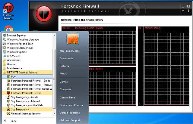 NETGATE Internet Security windows
