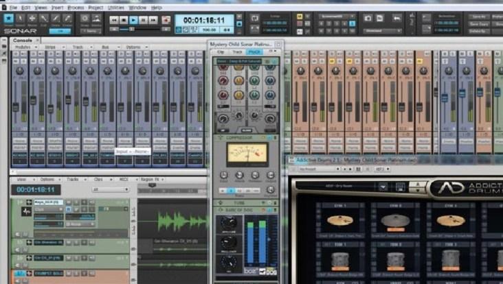 Cakewalk SONAR Platinum latest version