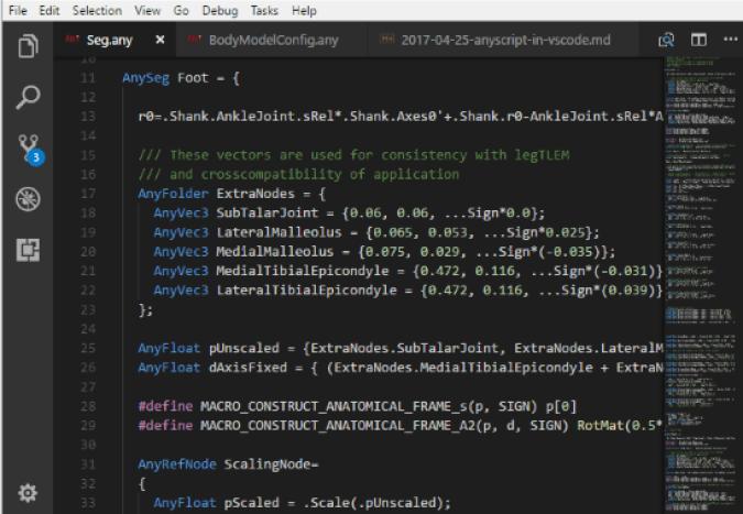 Visual Studio Code windows