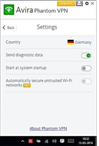 Avira Phantom VPN latest version