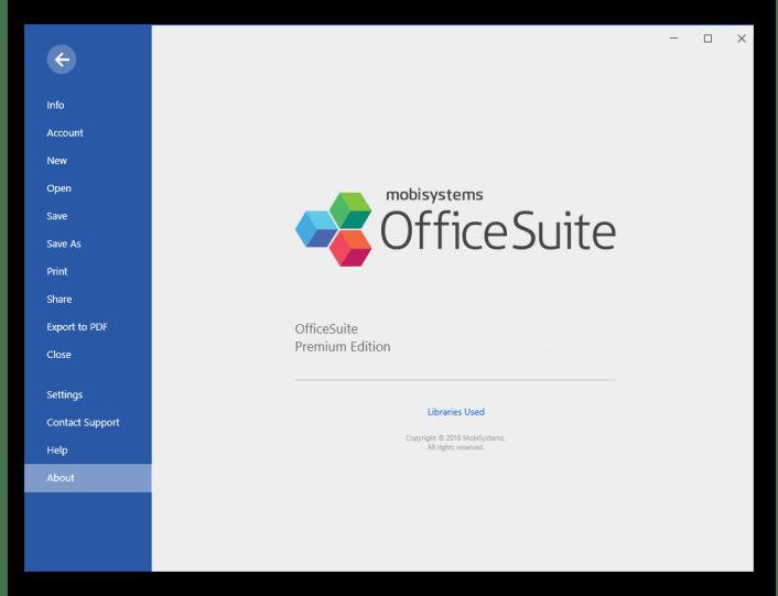 Office Suite Premium windows