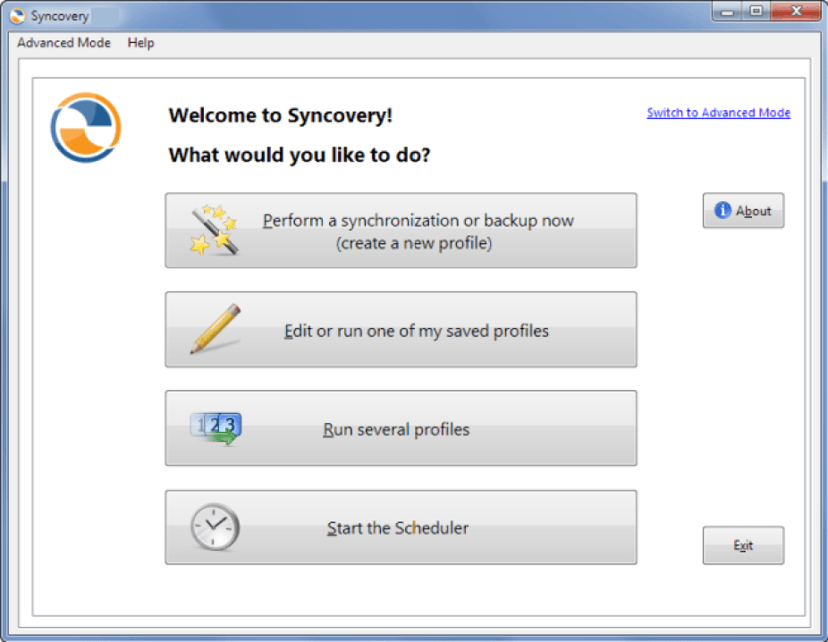Syncovery latest version