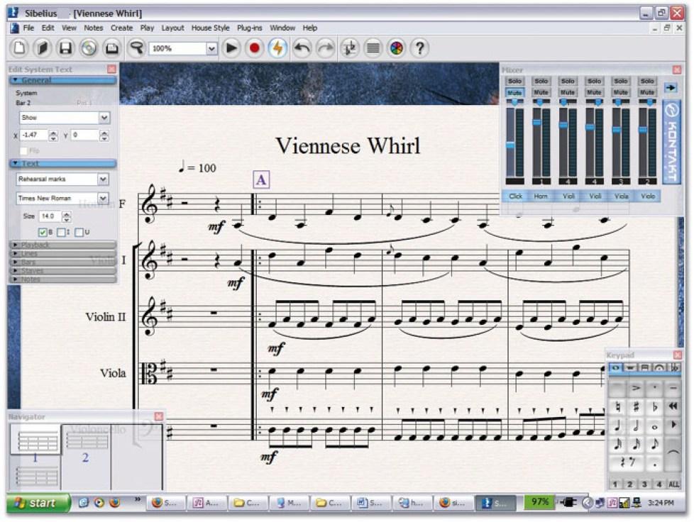 Sibelius latest version