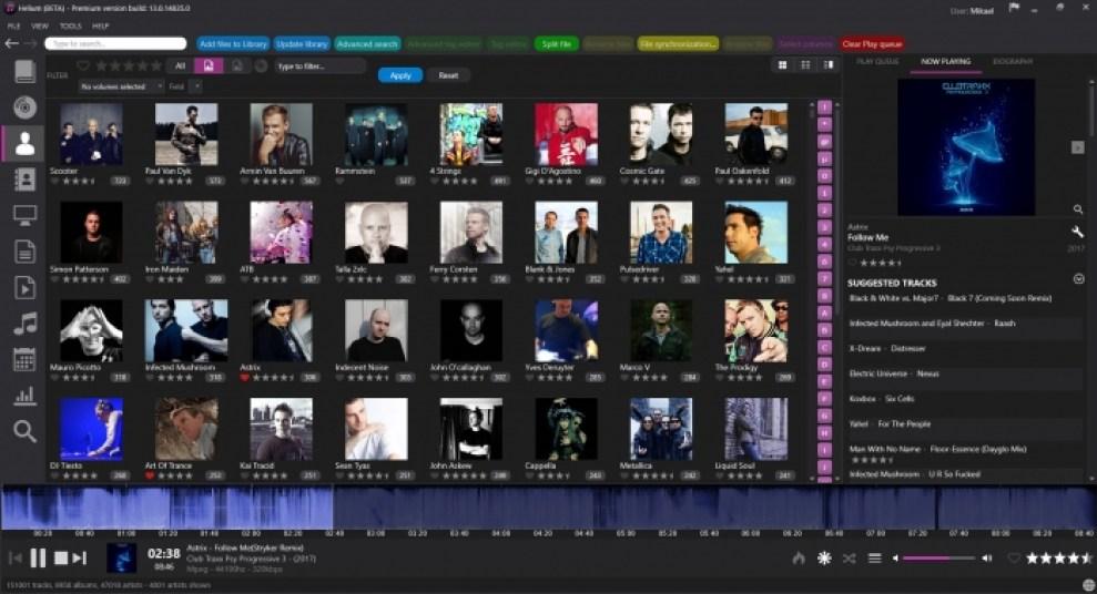 Helium Music Manager Premium windows