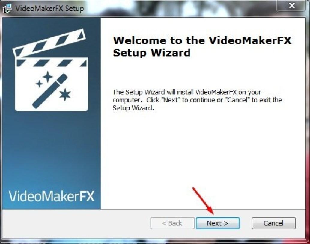 VideoMakerFX windows