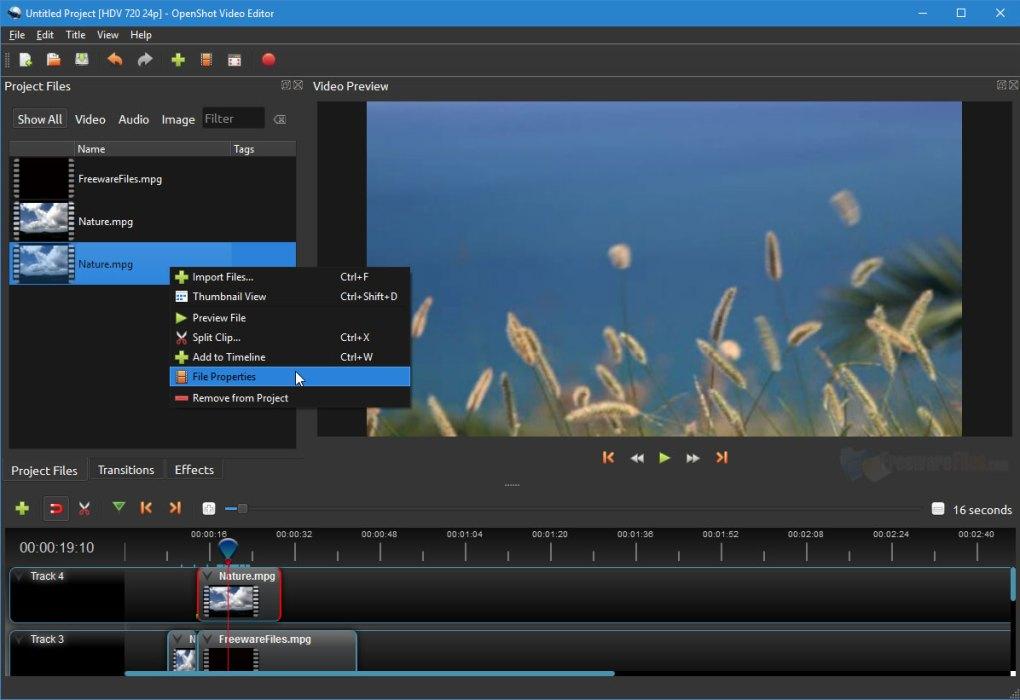 OpenShot Video Editor latest version