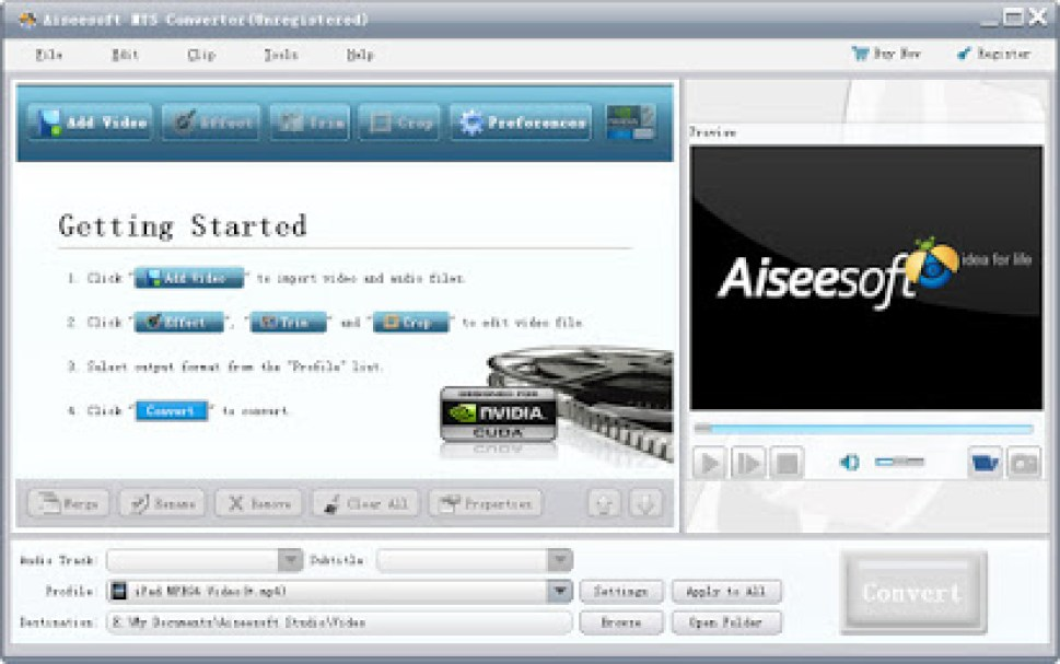 Aiseesoft MTS Converter windows
