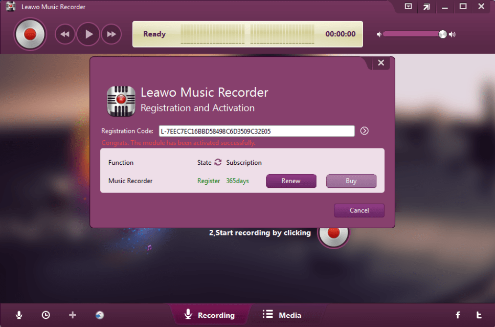 Leawo Music Recorder latest version