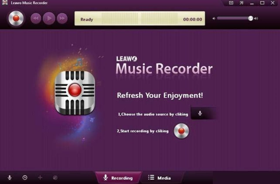 Leawo Music Recorder windows