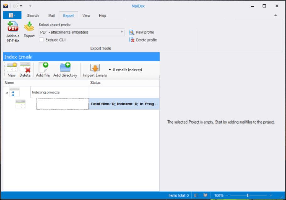 Encryptomatic MailDex windows