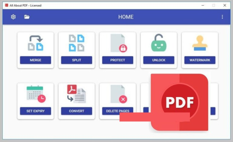 All About PDF windows