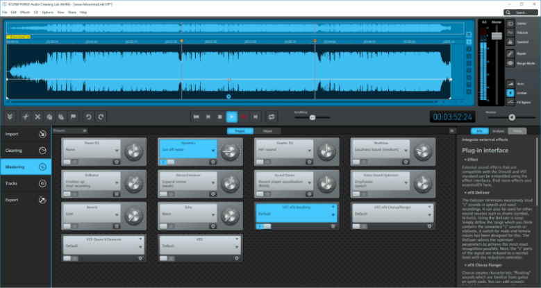 Magix Sound Forge Audio Cleaning windows