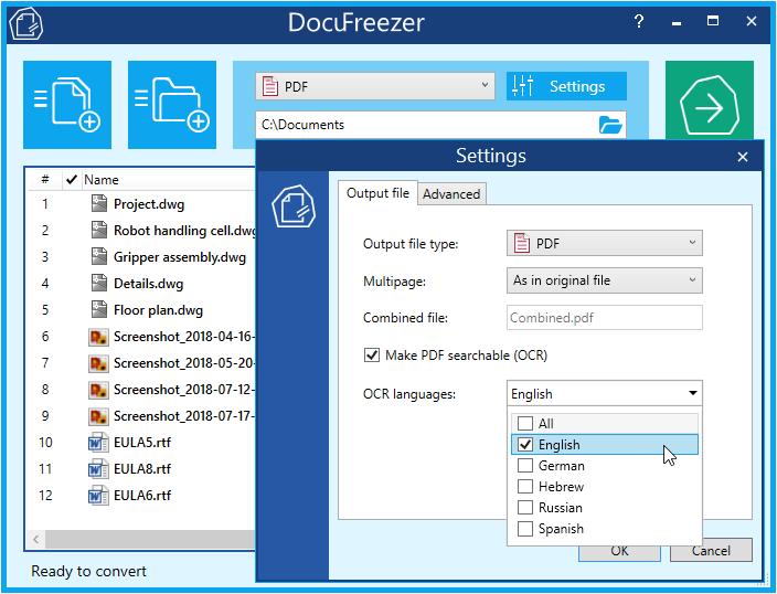 DocuFreezer latest version