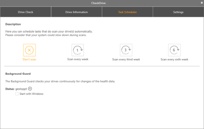 Abelssoft CheckDrive Pro windows
