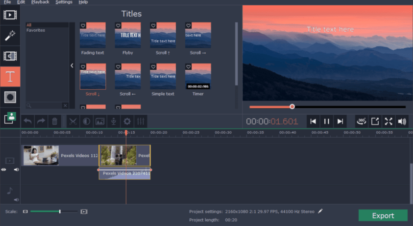 Movavi 360 Video Editor latest version