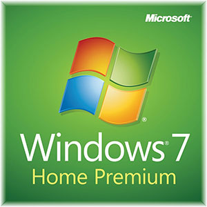 Windows 7 Home Premium ISO DvD BOXLogo