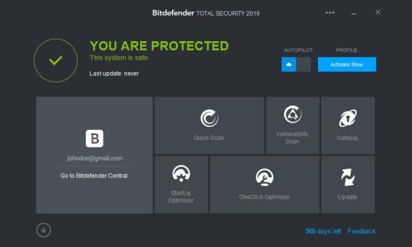 Bit defender total security 2016