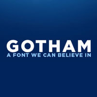 Gotham Fonts Download Logo