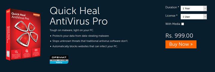 Quick Heal Antivirus Pro 2021 Free Download