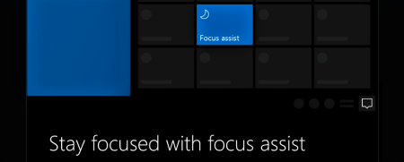 should i upgrade to windows 10 - focus assisst
