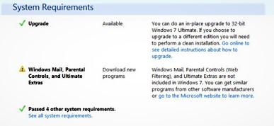 Download the Windows 7 Update Advisor