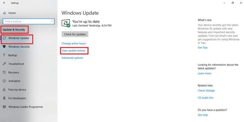 stop code error on windows 10
