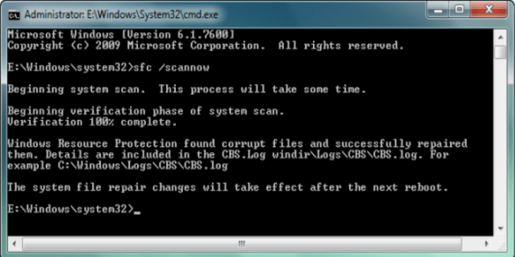Kernel Security Check Failure not restarting