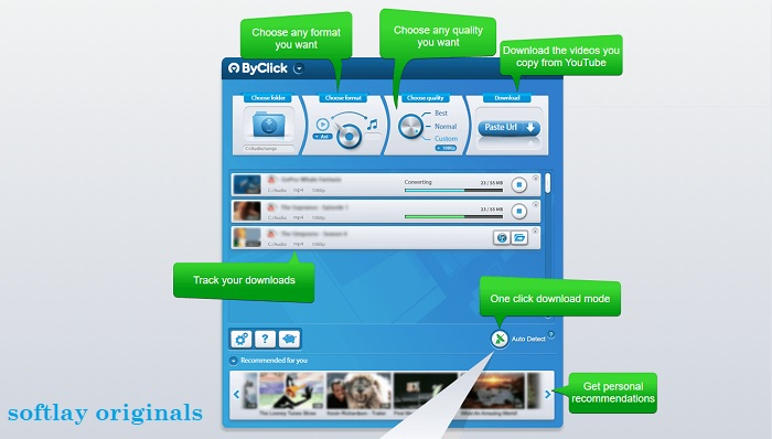 download By Click Downloader