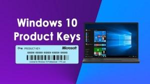 Windows 10 Product Key 3264-bit