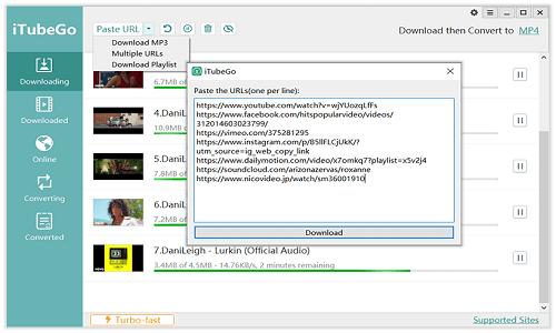 Download iTubeGo YouTube Downloader