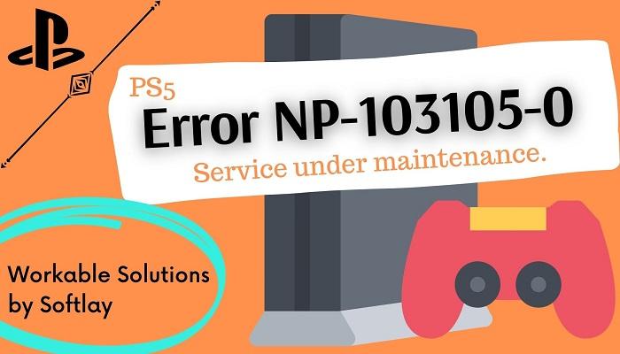 PS5 Error code CE-106667-6