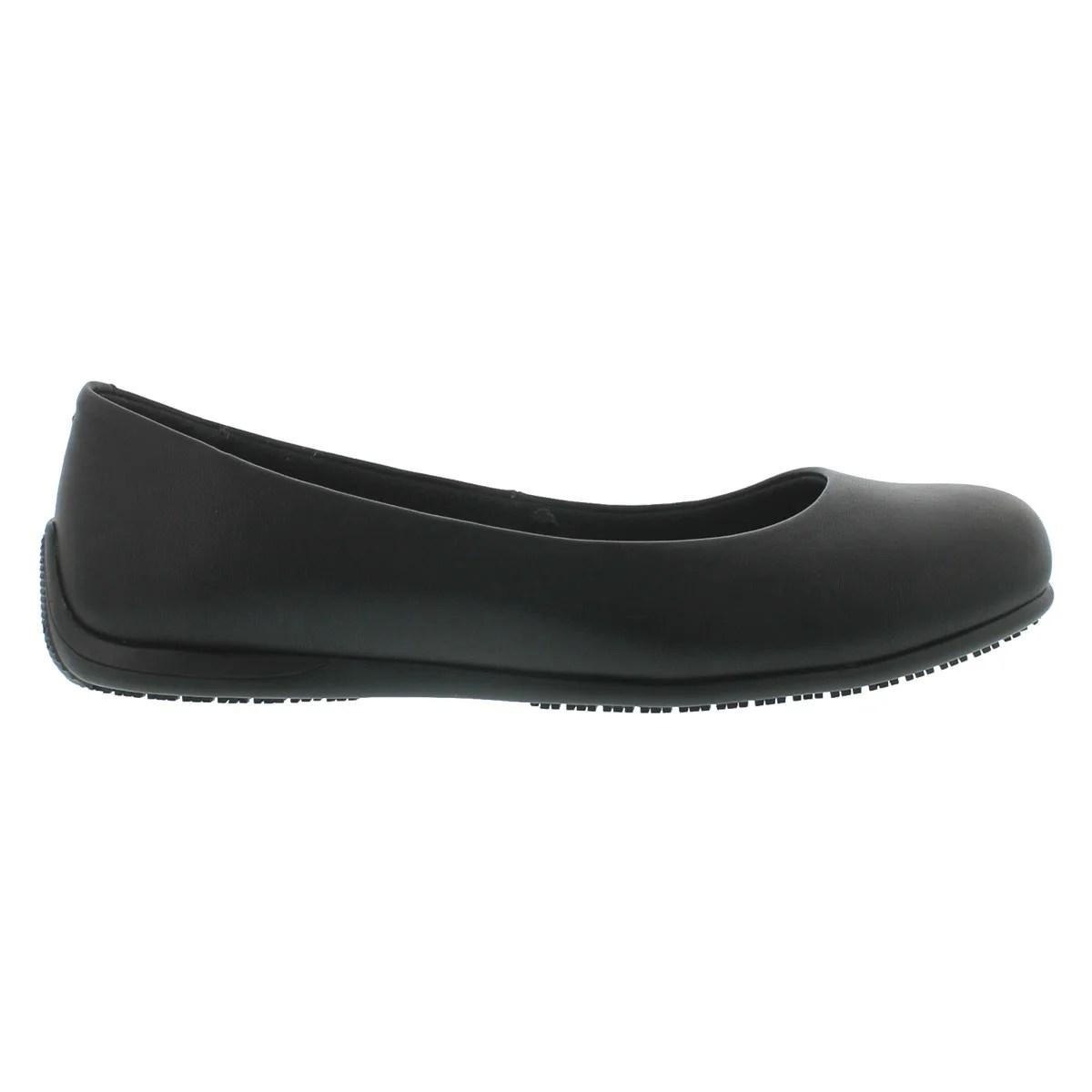 Black Non Slip Shoes Womens