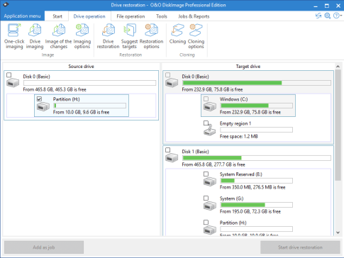 O&O DiskImage Professional 12.1.155 Crack