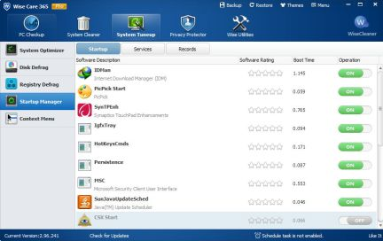 Wise Care 365 PRO 4.8.3 Crack