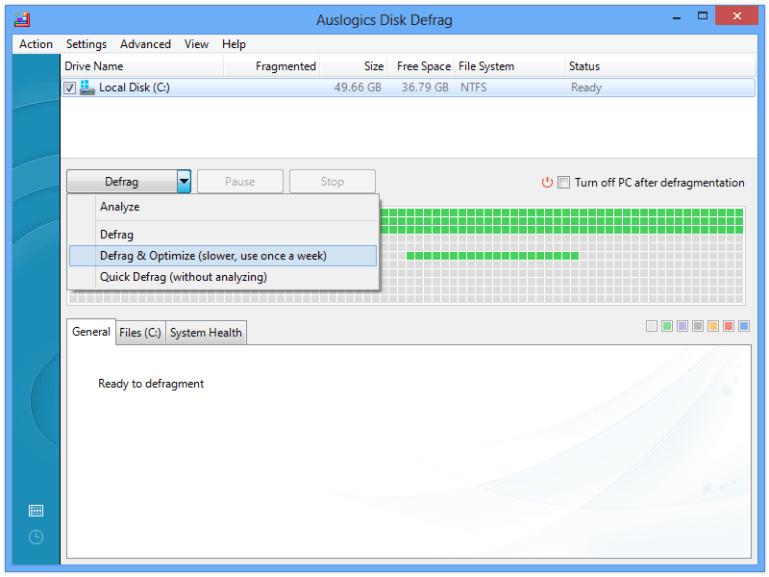 Auslogics Disk Defrag 8.0.11.0 Crack