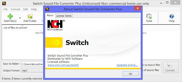 Switch Sound File Converter 6.19 Crack