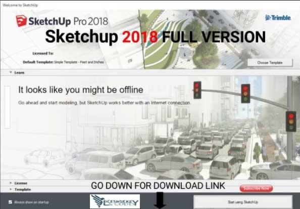 sketchup 2018 pro full crack download
