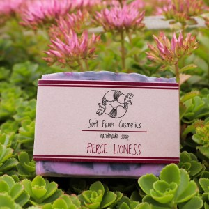 Fierce Lioness - Handmade Soap - Ylang-Ylang, Patchouli