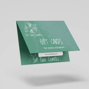 soft paws cosmetics gift card (Wexford, Ireland)