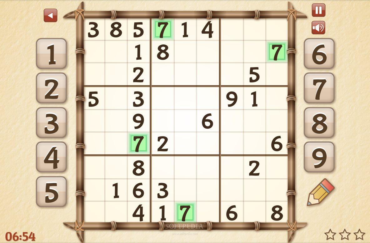 24 7 Medium Sudoku Game Free Download