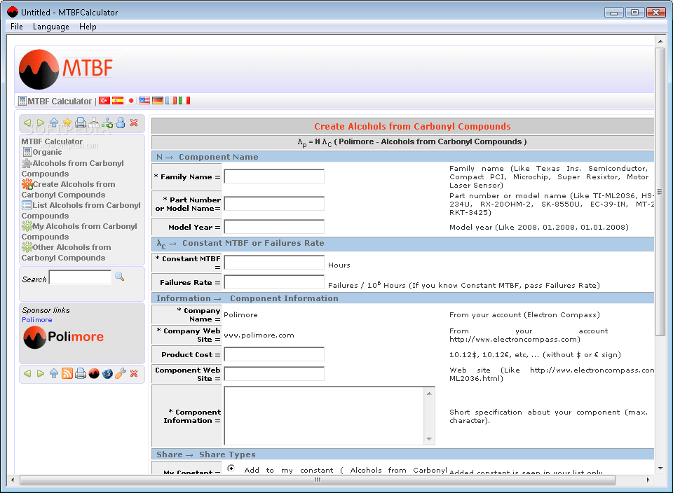 MTBF Calculator - Download Free with Screenshots and Review