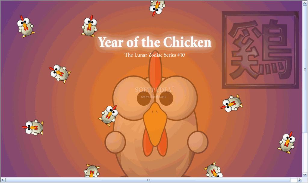 Chicken-Wallpaper-On-Desktop