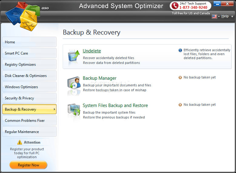 Advanced System Optimizer screenshot 7