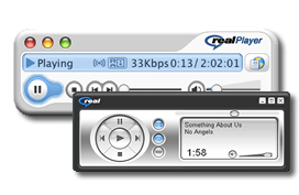 RealPlayer Skins Pack screenshot 1