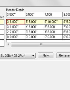 Header span table also openings softplan rh
